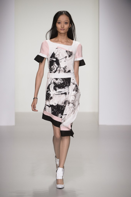 London Fashion Week Coverage: Jean-Pierre Braganza Spring 2014 Collection