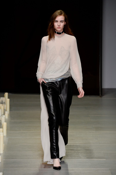 London Fashion Week Coverage: Marios Schwab Fall 2014 Collection