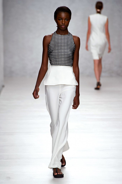 London Fashion Week Coverage: Marios Schwab Spring 2014 Collection