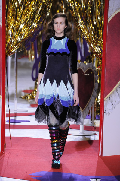 London Fashion Week Coverage: Meadham Kirchhoff Fall 2014 Collection