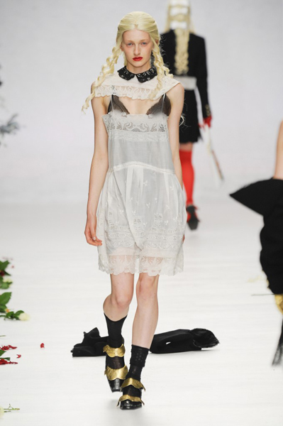 London Fashion Week Coverage: Meadham Kirchhoff Spring 2014 Collection