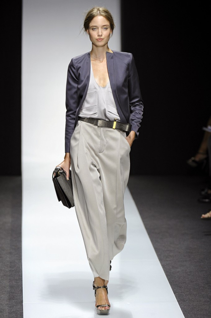 Milan Fashion Week Coverage: Gianfranco Ferré Spring 2014 Collection