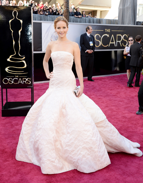 Jennifer Lawrence's Most Memorable Red Carpet Looks