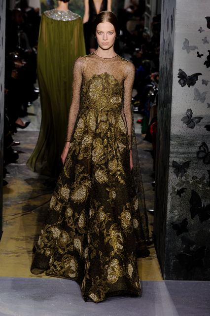 Paris Fashion Week Coverage: Valentino Spring 2014 Couture