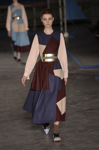London Fashion Week Coverage: Roksanda Ilincic Fall 2014 Collection