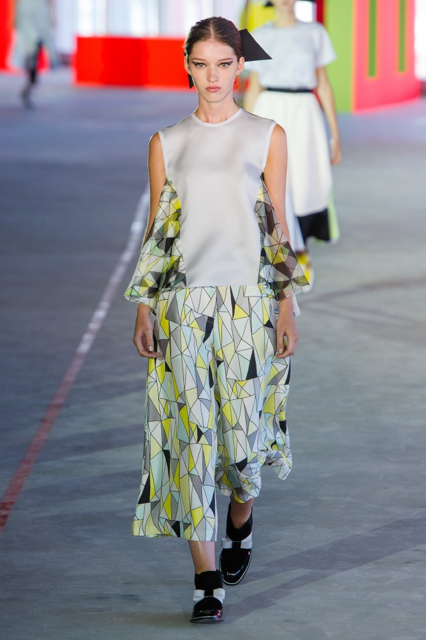 London Fashion Week Coverage: Roksanda Ilincic Spring 2014 Collection