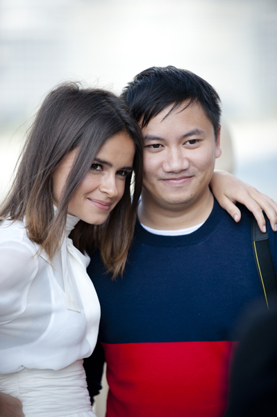 Behind the Scenes: Tommy Ton and Miroslava Duma for Symphony