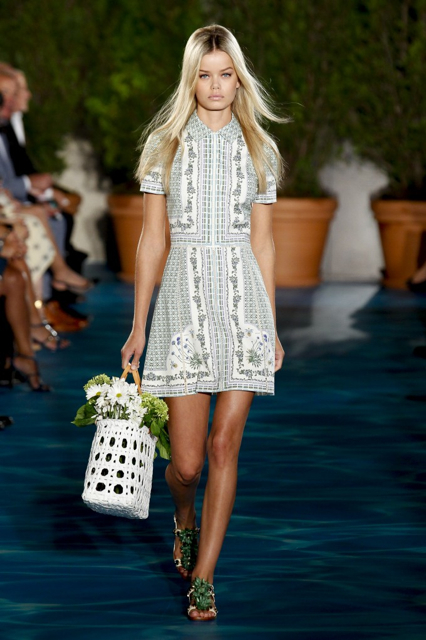 New York Fashion Week Coverage: Tory Burch Spring 2014 Collection