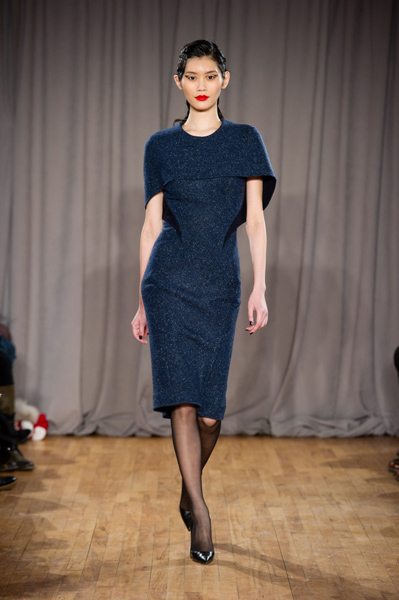 New York Fashion Week Coverage: Zac Posen Fall 2014 Collection